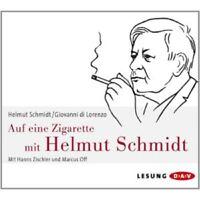 HELMUT SCHMIDT/GIOVANNI DI LORENZO - AUF EINE ZIGARETTE MIT HELMUT S.  3 CD NEU
