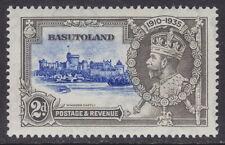 BASUTOLAND - 1935 2d Silver Jubilee 'DOT TO LEFT OF CHAPEL' - UM / MNH