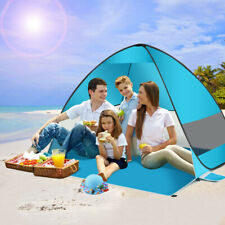 Pop Up Beach Tent Portable Sun Shelter Outdoor Camping Fishing Canopy UV Protect
