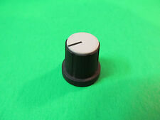 Silver Mixing Board Press On Potentiometer Knob From A Carvin MX1622 Mixer