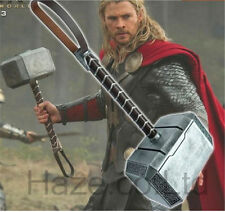 Avengers 2 Thor Hammer Adult Replica Prop Mjolnir 1:1 Model Cosplay