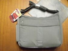"""FROMMERS BY LUG FLYER MINI MESSENGER BAG NWT TAUPE 13""""W X 10.5H X 3.5"""" D  NEW"""