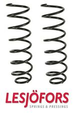 Audi A4 96-01 Set of 2 Rear Left and Right Coil Springs Lesjofors 42 042 11