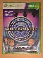 Who Wants To Be A Millionaire 2012 Edition (Xbox 360 Kinect) NEW Video Game Show
