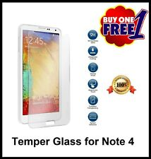 For SAMSUNG GALAXY NOTE 4 temper glass screen protector phone guard
