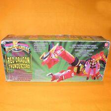 VINTAGE 1993 BANDAI SABAN POWER RANGERS RED DRAGON THUNDERZORD TRANSFORMING TOY