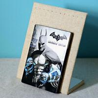 New - Batman Arkham City Armoured Edition G1 Steelbook Metal Case - No Game