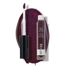NEW SEALED NIP+FAB Matte Liquid Lipstick, Black Grape, 2.6ml/0.08fl.oz