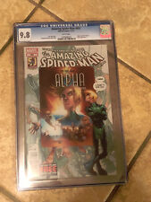 Amazing Spider-Man #692 cgc 9.8 ALPHA & Fantastic Four Appearance 2012 wp