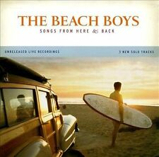 Songs from Here & Back [Limited] The Beach Boys (CD, May-2006, Hallmark) NEW