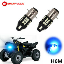 100W 8000K H6M LED Headlight Bulb For Suzuki LTZ 400 Z400 QUADSPORT 2003–2008 WP