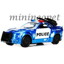 JADA 14032 TRANSFORMERS 5 BARRICADE CUSTOM POLICE CAR 1/64 DIECAST BLUE
