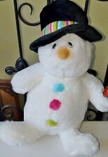 Boutique plush GUND snowman toy SNOWBERRY NWT 4042773 Christmas winter baby