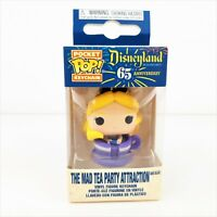 Funko Disneyland 65th Anniversary Pocket Pop Alice in Wonderland Teacup Keychain