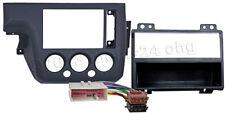 Radio Blende für FORD Fiesta DIN ab Bj.02-05 Einbau Rahmen Adapter ISO Kabel