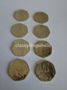 Collectible Commemorative Jemima Puddleduck Beatrix Potter Peter Rabbit 50p coin
