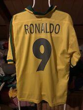 Camiseta Futbol Brasil Ronaldo Madrid Barcelona Inter Milan