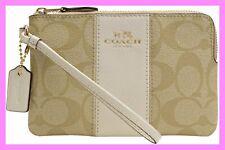 Coach Handbag Purse Tote Hand Shoulder Satchel Bag Zip Wristlet signature F54629