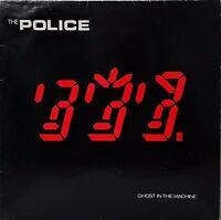 THE POLICE~GHOST IN THE MACHINE~AMLK 63730~1981 UK VINYL LP