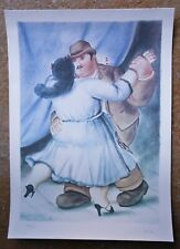 Fernando BOTERO original, hand numbered and signed lithograph : Les Danseurs