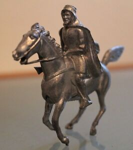 Soldier Lead Hollow Old BRITAINS Rider not Original Painted