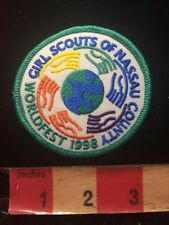 Girl Scouts Patch - Nassau County Multicultural C86R