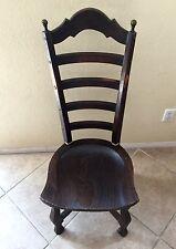 Enkeboll Vintage Rustic Ladder High Back Wood Chair