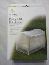 J is for Jeep playpen netting New in box