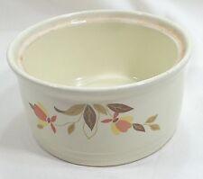 """Vintage Serving Bowl 6-1/2"""" Hall's Superior Autumn Leaf Radiance Jewel Cream"""