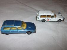 Matchbox Lesney Citroen CX & Majorette Citroen DS Ambulance