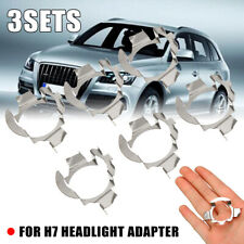 3 sets H7 LED Headlight Bulb Adapter Holder Retainer For Mercedes Benz