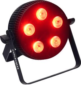 PAR LED 5 X 10 W RGBWAU  ALGAM LIGHTING SLIMPAR-510-HEX