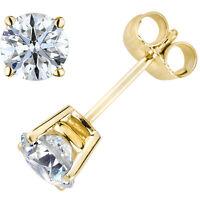 Original McPearl Solitär Diamant Ohrringe 2500. Ehem. Preis 1029,- EUR. 0,25 ct