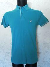 THOMAS PINK Turquoise Short Sleeve Polo shirt Size XS