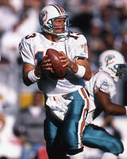 1996 Miami Dolphins DAN MARINO Glossy 8x10 Photo NFL Football Print Poster
