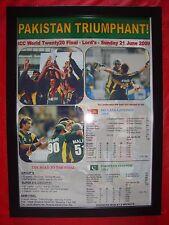 Pakistan 2009 ICC World Twenty20 winners - framed print