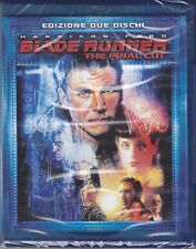 2 Blu-ray BLADE RUNNER - THE FINAL CUT con Harrison Ford nuovo 2007