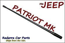 "FITS: 2007-2017 Jeep Patriot MK - 13"" SHORT Custom Flexible Rubber Antenna Mast"