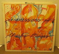Impressions of Charles Mingus TEO MACERO Phonograph Record Album LP