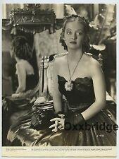 BETTE DAVIS Spectaular Portrait ELMER FRYER 1938 Glamour Photo J3152