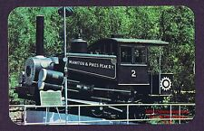 LMH Postcard  MANITOU PIKES PEAK Incline Cog Railway  0-4-2T Steam Engine Scenic