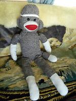 "Giant Sock Monkey plush stuffed 38""L"