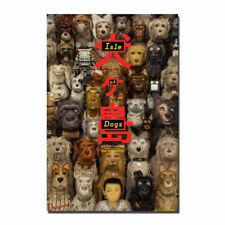 Isle of Dogs VER b Wes Anderson Double Sided Original Movie Poster 27x40