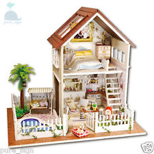 DIY Handcraft Miniature Project Wooden Dolls House My Little House in Paris