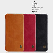 Genuine Nillkin PU Leather Flip Wallet Card Cover Case For OnePlus 7T 7 Pro Case
