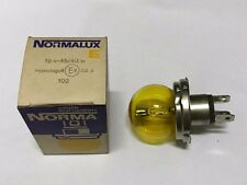 bmw r75/5 r60/5 r50/5 headlight bulb norma normalux 12v 45/40w yellow NOS