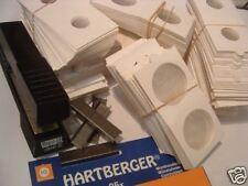 Munthouders HARTBERGER om te nieten 100 stuks  17,5 mm