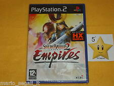SAMURAI WARRIORS 2 EMPIRES Playstation 2 PS2  vers. ITA  NUOVO SIGILLATO