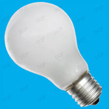 4x 100W TUNGSTEN FILAMENT DIMMABLE PEARL GLS LIGHT BULBS E27 ES SCREW LAMPS