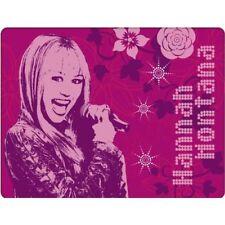 DISNEY HANNAH MONTANA polaire douillet tages-decke 150x125 NEUF, coloris rose